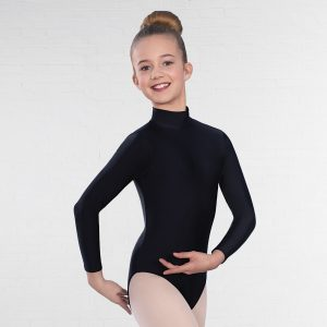 1st Position Vicky Long Sleeved Keyhole Back Leotard