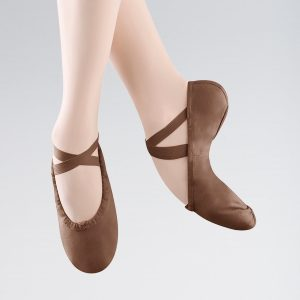 Bloch Pump Split Sole Canvas Ballet Shoe