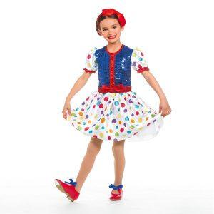 Childs Spotty Dress