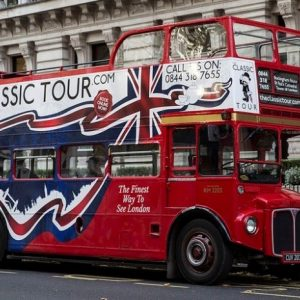 Classic Sightseeing Bus Tour of London