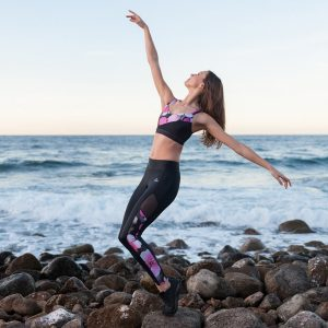 Dansez ELECTRA Dance Fitness Leggings Cloud Print