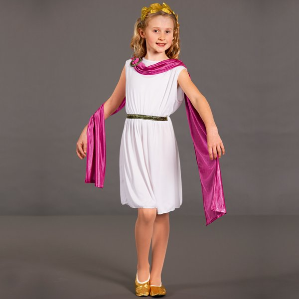 Economy Greek Goddess Costume - Headband no longer inlcuded