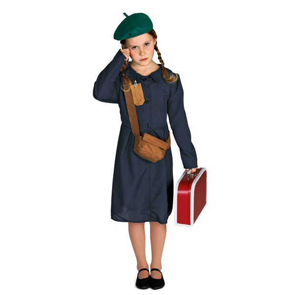 Evacuee Girl Outfit