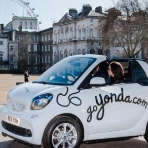 Four-Seater Self Driving Tour of London