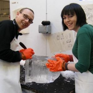 Half Day Ice Sculpting For 2 - In London
