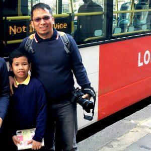 London Sightseeing Bus Family Tour