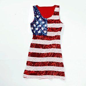 Miss USA Sequin Dress