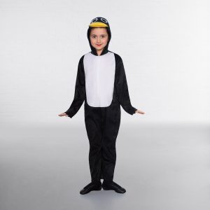 Penguin Hooded Jumpsuit with Mask