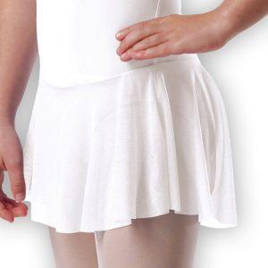 Plume Cap Sleeved Skirt Leotard