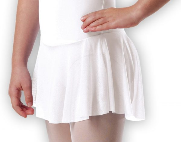 Plume Cap Sleeved Skirt Leotard