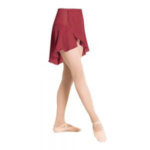 Plume Chiffon Wrap Skirt