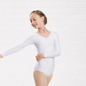 Plume Long Sleeved Lycra Leotard