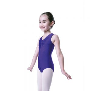 Dance Gear ALICE Children/'s Velour Sleeveless Scoop Neck Leotard