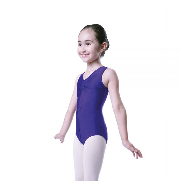 Plume Lycra Sleeveless Leotard