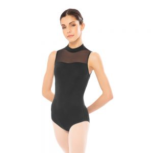 Plume Mesh Collection Leotard