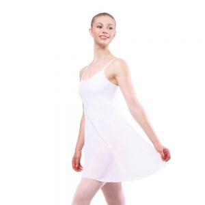 Plume Mesh Dress Leotard