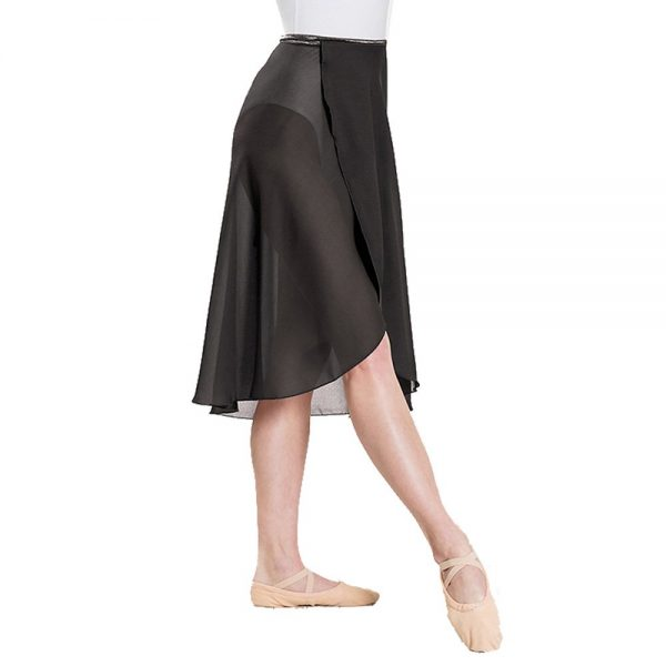 Plume Self-Tie Wrap Skirt