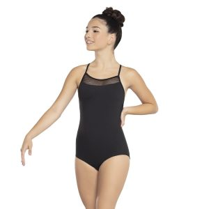 Revolution Linear Mesh Camisole Leotard