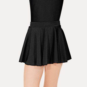 Roch Valley Nylon Lycra Circular Short Skirt