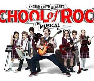 School of Rock at New Wimbledon Theatre