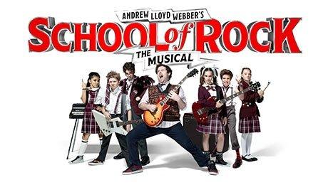 School of Rock at New Wimbledon Theatre