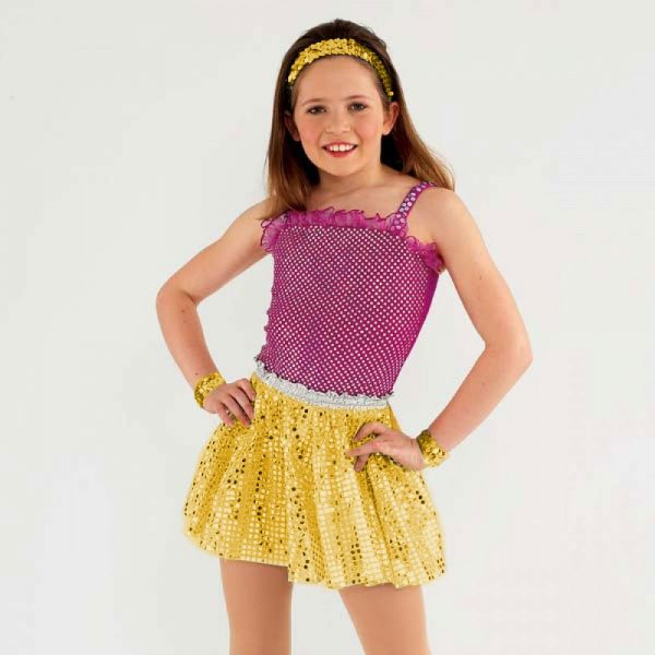 Sequin Skirt (Child one size)