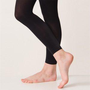 Silky Footless Ballet Tights