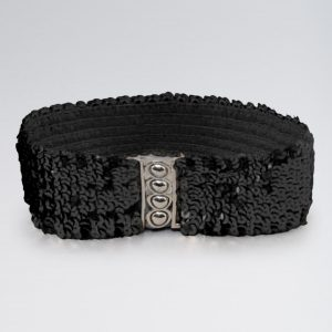 Stretch Sequin Belt