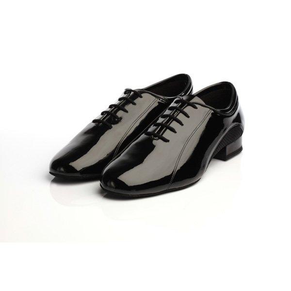 Supadance Mens Ballroom And Practice Patent/Mesh Shoe