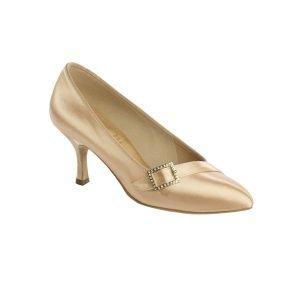 Supadance Pointed Toe Court Satin Shoe