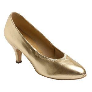 Supadance Round Toe Elasticated Coag Court Shoe