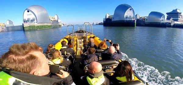 Thames Barrier RIB Experience - Child
