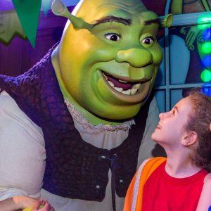 Thames Cruise + Shrek's Adventure Experience - Child Ticket