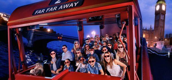 Thames Cruise + Shrek's Adventure Experience for 2