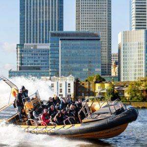 Thames RIB Canary Wharf Experience - Adult