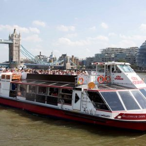 Thames Sightseeing Cruise for Two