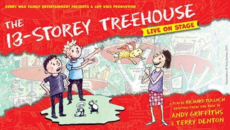 The 13-Storey Treehouse at Milton Keynes Theatre