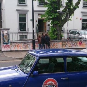 The Beatles London Tour in a Mini Cooper