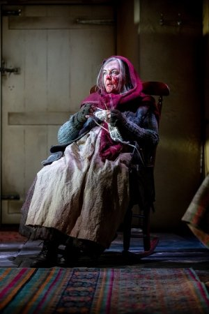 Gwen Taylor as Enid in THE CROFT. Credit Charlotte Graham