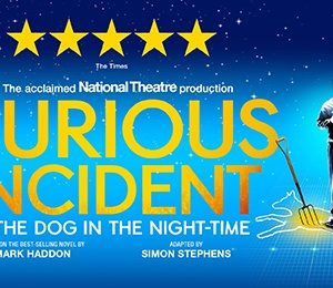 The Curious Incident of the Dog in the Night-Time at Bristol Hippodrome Theatre