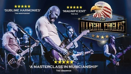 The Illegal Eagles at New Wimbledon Theatre
