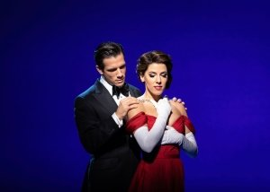 Pretty Woman the Musical. Danny Mac 'Edward Lewis' and Aimie Atkinson 'Vivian Ward'. Photo Helen Maybanks.