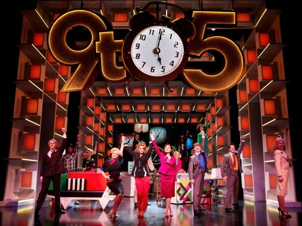 9 TO 5 THE MUSICAL. Louise Redknapp 'Violet Newstead'. Photo Simon Turtle.