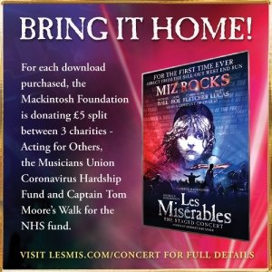 Les Miserables The charity DVD staged by concerts