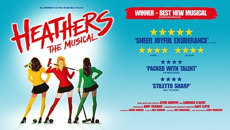 Heathers The Musical at Palace Theatre Manchester