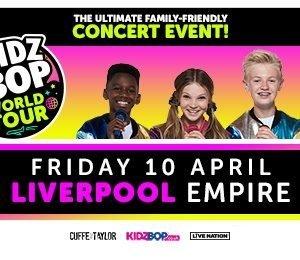 Kidz Bop World Tour at Liverpool Empire