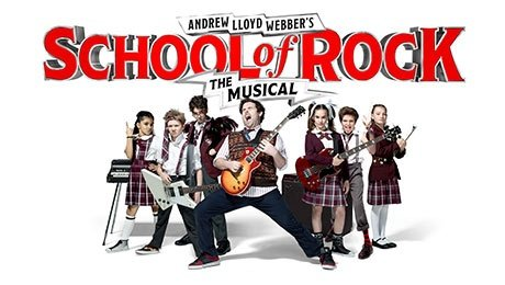 School of Rock at Edinburgh Playhouse