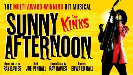 Sunny Afternoon at Theatre Royal Brighton