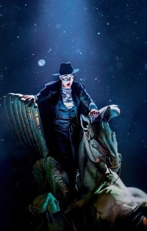 The Phantom of the Opera Tour. Killian Donnelly as 'The Phantom'. Photo by Johan Persson.