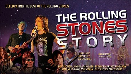 The Rolling Stones Story at Aylesbury Waterside Theatre
